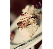 Chunk of Crab Cake on Break Photographic Print