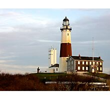Montauk Point Light House Long Island Photographic Print