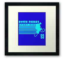 South Philly Stunt Bike Framed Print