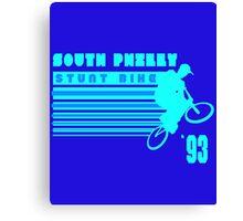 South Philly Stunt Bike Canvas Print