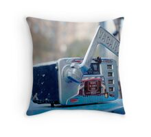 Vintage Taxi Running Meter Throw Pillow