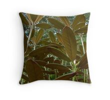 Underneath it All Throw Pillow