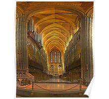 Truro Cathedral Quire and Altar Poster