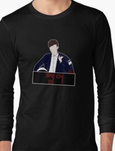 BTS J-Hope 쩔어/Sick/Dope Concept Image Faceless Cartoon Long Sleeve T-Shirt