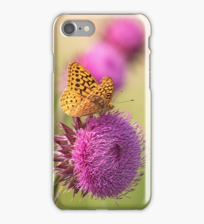 The Great Spangled Fritillary iPhone Case/Skin