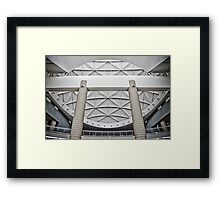 Detail Support - Orlando, FL Framed Print