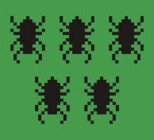 PIXEL BUGS by JAMES & MOONIE
