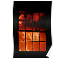 fire in the window Poster