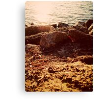 Sunset Sand - Revisted Canvas Print