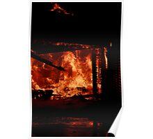 the blaze Poster