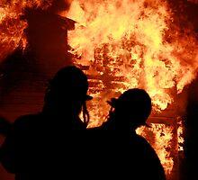silhouette in a blaze (3) by Alex Eldridge