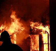 silhouette in a blaze (4) by Alex Eldridge