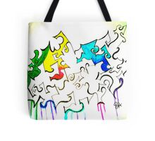 Ink and color Tote Bag