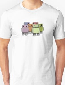 Robot Colour T-Shirt