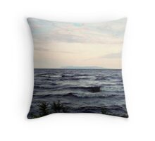 The Sleeping Giant Throw Pillow