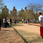 Petanque in NYC by Elena Vazquez