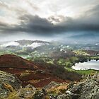 Clouds Loom Loughrigg Fell  by Stuart1882