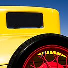 Yellow '31 Ford - Print  by Mark Podger
