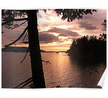 Wildcat Cove Sunset Poster