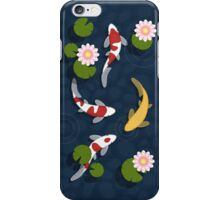 Japanese Koi Fish Pond iPhone Case/Skin