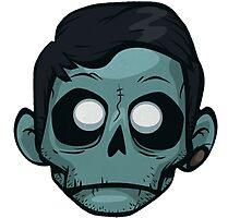 Zomboy // Head Logo by tumblrian