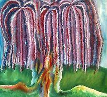 Rainbow Willow by sheyman