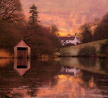 Rydal Water Autumn Warmth by Stuart1882