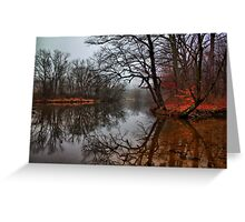 Fall on the Bradywine River Greeting Card