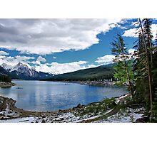 Medicine Lake, Alberta, Canada Photographic Print