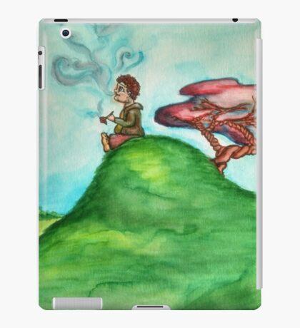 Hobbit Smoking Old Toby iPad Case/Skin