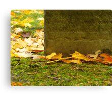 Autumn Memorial Canvas Print