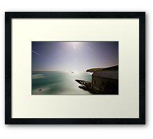 Lizard Point Night Framed Print