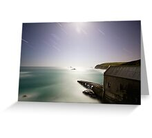 Lizard Point Night Greeting Card