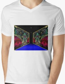 Mirrored Gallery Mens V-Neck T-Shirt
