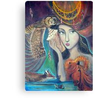 Lola - the Dreamweaver Canvas Print