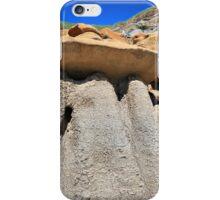 Hoodoos, Drumheller, Alberta iPhone Case/Skin
