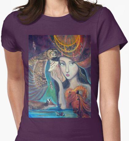 Lola - the Dreamweaver Womens Fitted T-Shirt