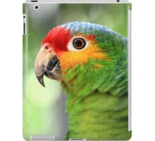 Red-lored Amazon Parrot  iPad Case/Skin