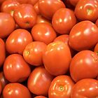 Red Tomatoes, Hollywood Farmers Market by Ray Schiel