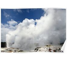 The Geysers,N.Z. Poster