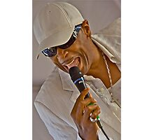 Ali Ollie Woodson, Lead Singer, The Temptations Photographic Print