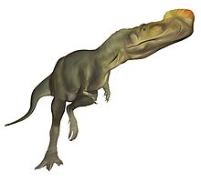 Dinosaur Painting Photographic Print