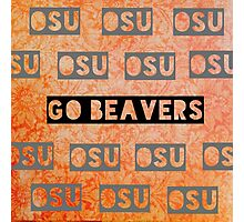 Oregon State Photographic Print