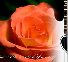 """Music is love in search of a word"" by Barbara Simmons"