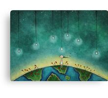 You light up my world Canvas Print