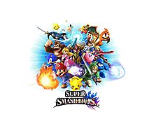 Super Smash Brothers Corky's Place  Photographic Print