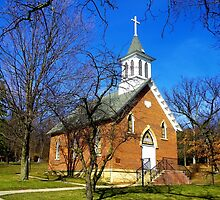 St. John's Lutheran Church (Est. 1884) by wiscbackroadz