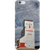 """Prairie Cathedral"" in Morse, Saskatchewan iPhone Case/Skin"