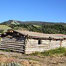 Cunningham Cabin, Grand Tetons NP by Teresa Zieba