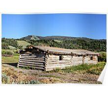 Cunningham Cabin, Grand Tetons NP Poster